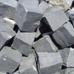 Doğal Bazalt Küp taş